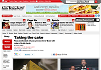 New York Post – Taking the cake