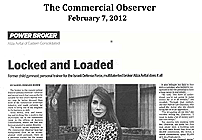 The Commercial Observer – Locked and Loaded